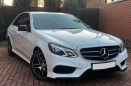 Mercedes E-class W212 Restyling white